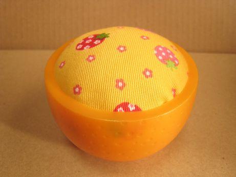 オレンジピンクッション10