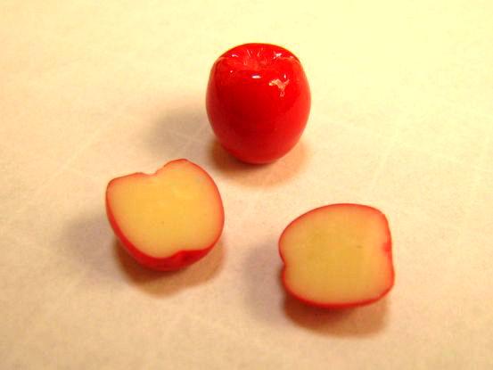 半分リンゴ1