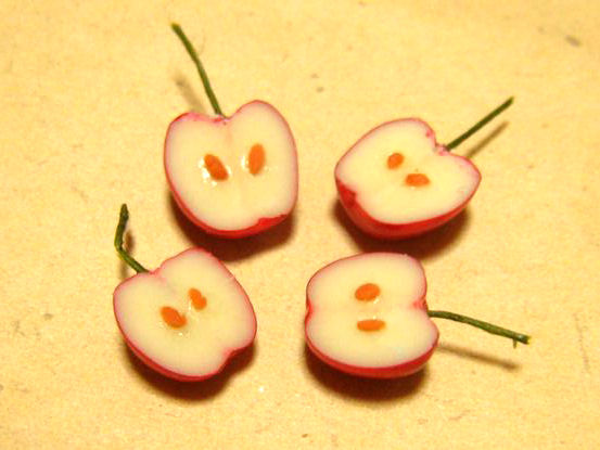 半分リンゴ2