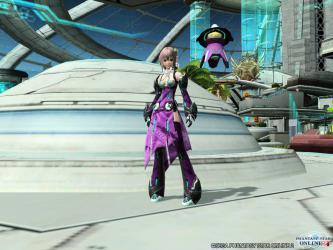 バリスティックコート紫