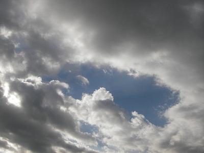 2012年12月31日の空