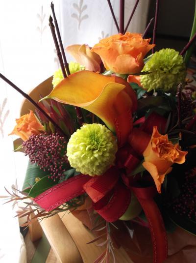 加奈ちゃんからのお花