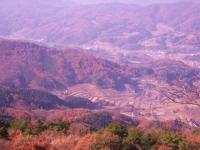 大平山から南下に岡山道など眺める