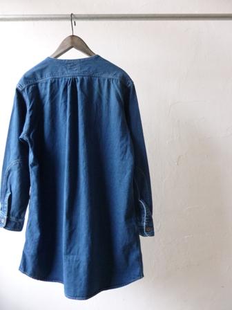 【orslow】NO COLLAR SHIRTS COATオアスロウ レディス ノーカラーシャツコート