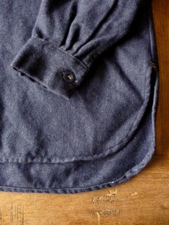 【HARROW TOWN STORES】 Work Pullover Shirts ハロウタウンストアーズの ワーク プルオーバーシャツ
