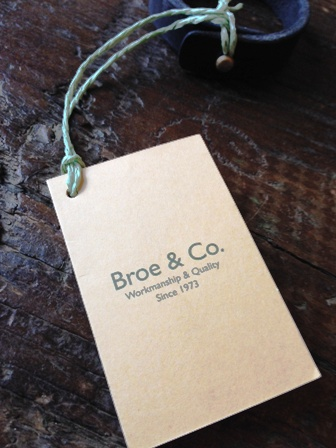 【Broe & Co.】 Hand Made Bracelet デンマーク製 ハンドメイド レザーブレスレット