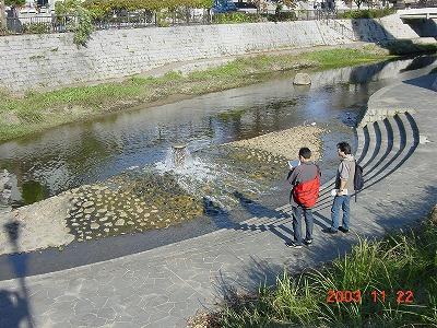 庄下川噴水