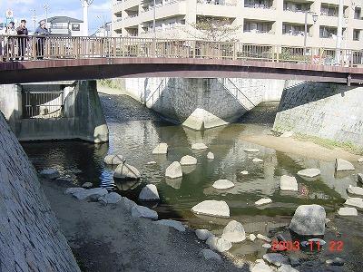 庄下川3川合流点