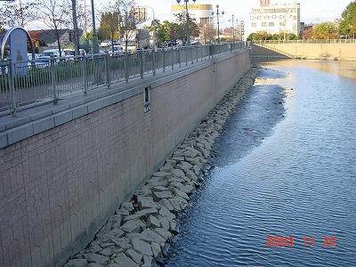 庄下川国道2号付近