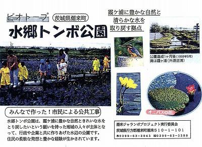 水郷トンボ公園茨城県です