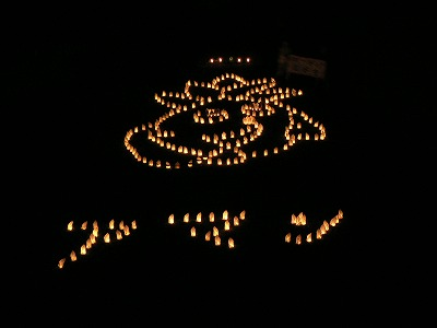 天野川七夕は行燈まつりの風情です