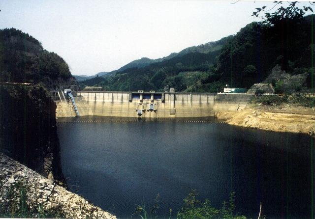 下筌ダム水面
