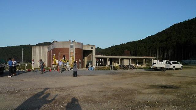 大川小学校全景です