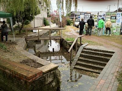 昔の用水路