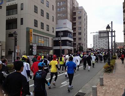 宝塚大橋に向かいます