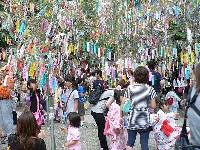 交野機物神社の七夕つづきです