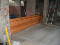 木工事材料搬入