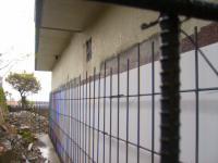 外部駐車場部分擁壁鉄筋組立2