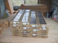 建材搬入フローリング材料