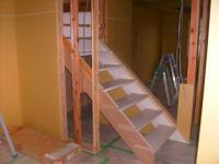 階段できました!2階から降りれますよ