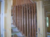 1階階段部スリット設置