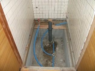 トイレ配管工事