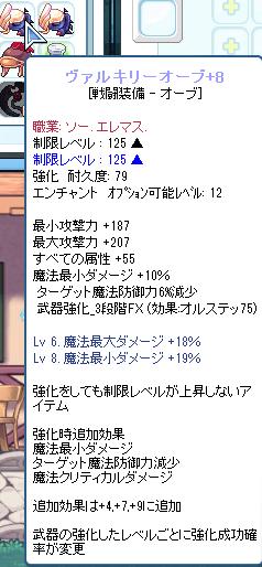 ショボイけど+8になっちゃったわぁぁヽ(^o^)丿