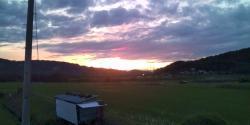 日が暮れていくぅぅ