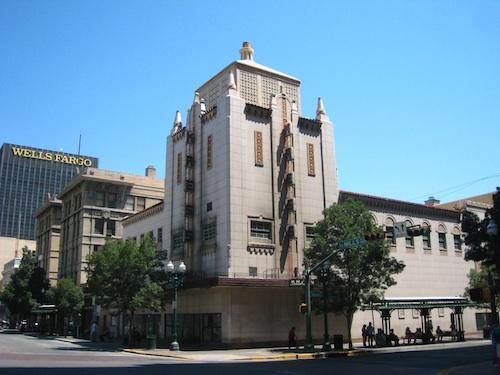 エルパソ旧市街ビル