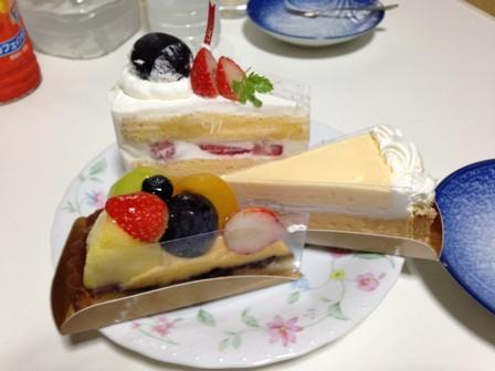 ラ・ポワールのケーキ