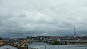 6月3日 曇天