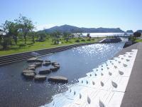 河川プール