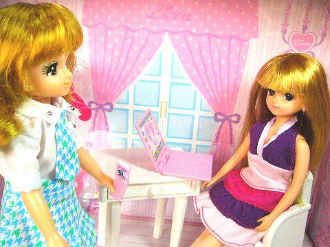 アンナとリカちゃん