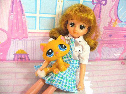 アンナとネコ