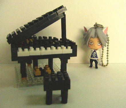 ナノブロック ピアノ