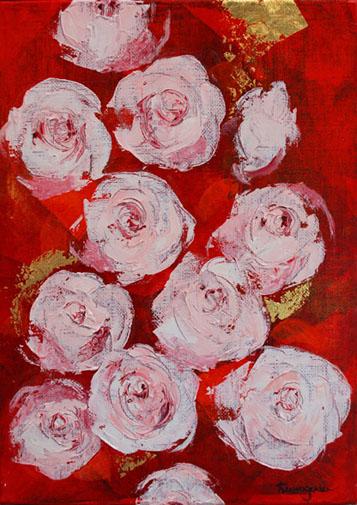 薄紅の薔薇w