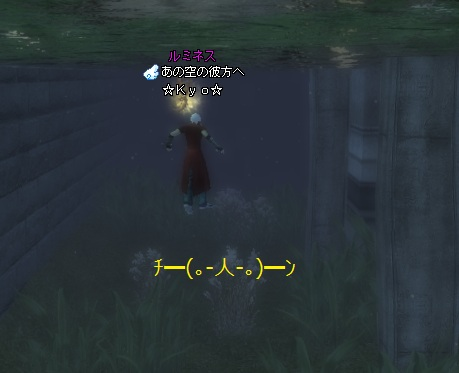 チャぴ召喚水中