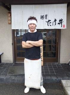 「麺屋 たけ井」竹井店主