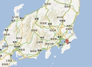山小川の地図