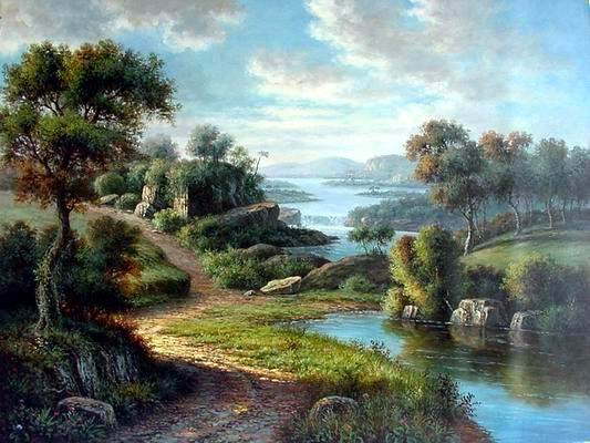 American landscape painters history and more tufudy for Artwork landscapes