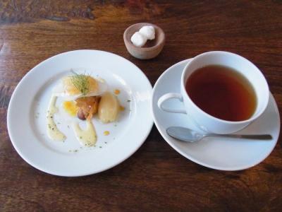 Nicolas(ミニデザート・紅茶(シャンパンパーティーのホット))+¥200