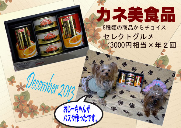 (285)2013年12月到着 カネ美食品
