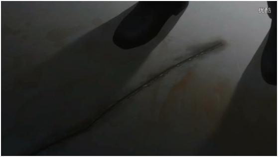地上的傷痕