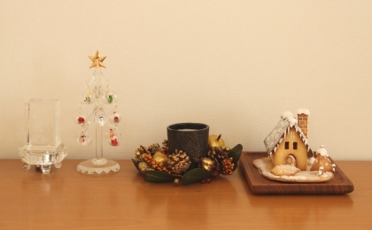 ヘクセンハウスとクリスマス雑貨