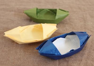 折り紙のボート