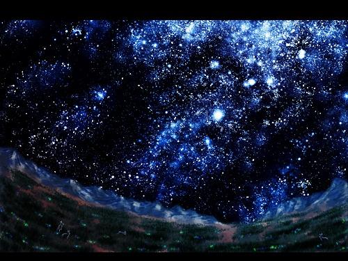 【綺麗な星空】ちょっぴりおしゃれな画像集