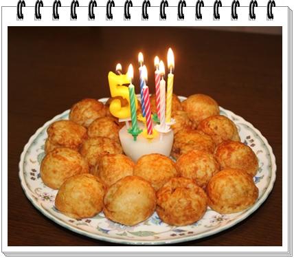 たこ焼きケーキ