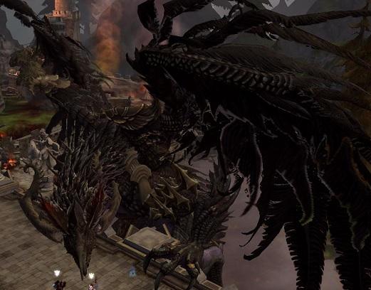 ドラゴン本体
