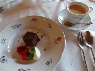 フィオレンティーナランチのデザートとドリンク