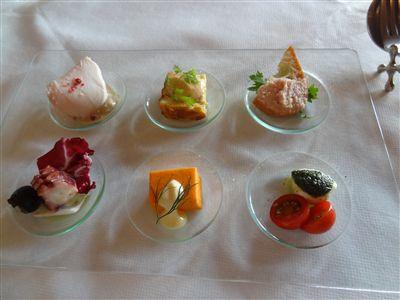 フィオレンティーナランチの前菜
